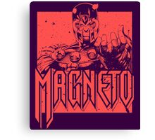 Magneto - Red Canvas Print