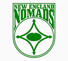 Nomads shield, full chest, green Unisex T-Shirt