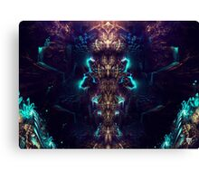 Crystal Magma Canvas Print