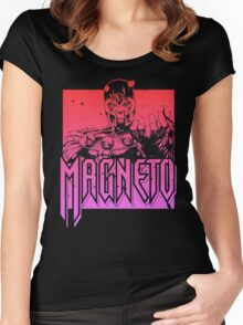 Magneto - Multi Color Women's Fitted Scoop T-Shirt