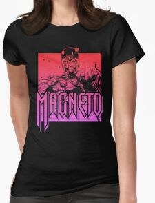 Magneto - Multi Color Womens Fitted T-Shirt
