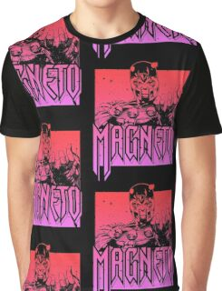 Magneto - Multi Color Graphic T-Shirt