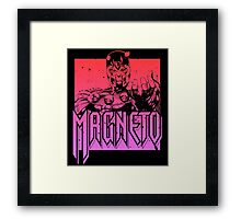 Magneto - Multi Color Framed Print