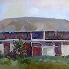 Moldavian Barn by painterflipper