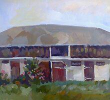 Moldavian Barn by Filip Mihail
