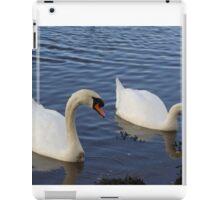 swanning off iPad Case/Skin