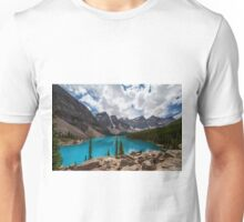Moraine Lake Afternoon Unisex T-Shirt