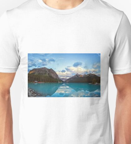 Lake Louise Banff Alberta Unisex T-Shirt