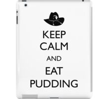 Walking Dead - Keep Calm and Eat Pudding Carl iPad Case/Skin