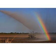 Irrigation Rainbow Photographic Print