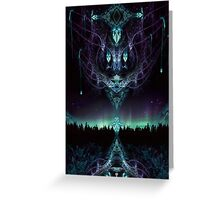 Midnight Aura Greeting Card