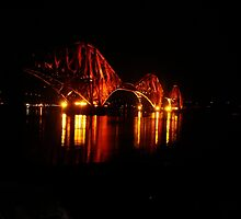 Forth Rail Bridge angled by Lesleymc77