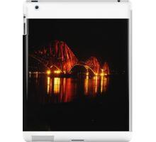 Forth Rail Bridge angled iPad Case/Skin