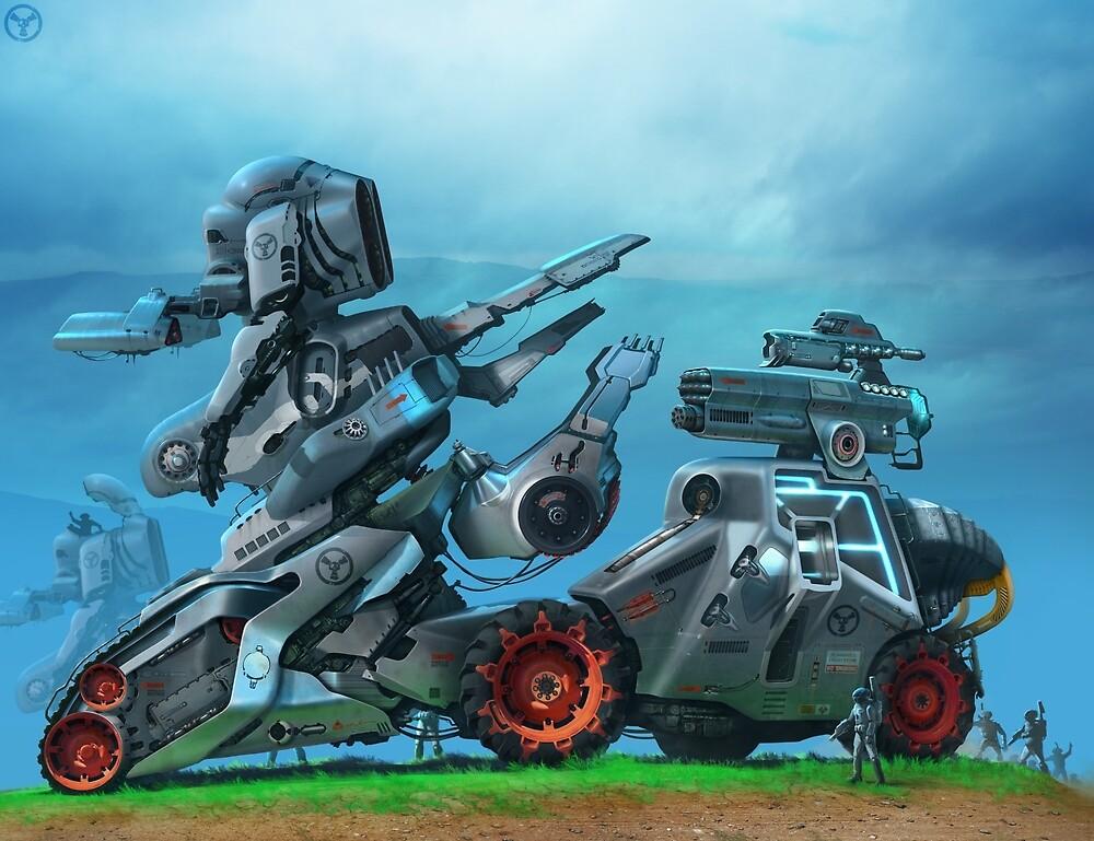 All Terrain Tactical Mech by DanielVijoi