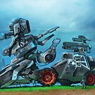 All Terrain Tactical Mech by DanielVijoi