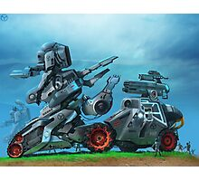 All Terrain Tactical Mech Photographic Print