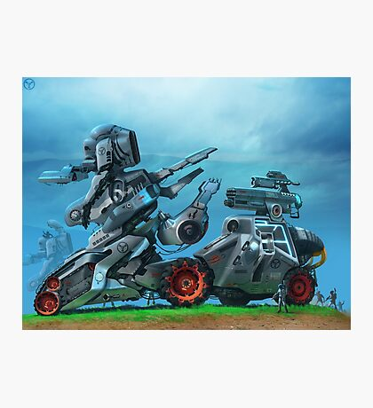 All Terrain Tactical Mech Photographic Print