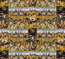 Garden of Earthly Delights quilt by ZugArt
