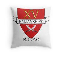 Hallamshire sleepover Throw Pillow