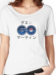 Cool Pokemon GO Japanese Text Women's Relaxed Fit T-Shirt