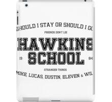 Stranger Things - Hawkins School iPad Case/Skin