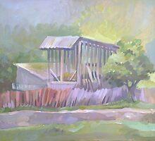 Barn from Agarcia by Filip Mihail