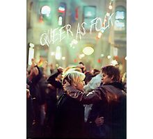 queer as folk - Brian & Justin Photographic Print
