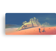 Dune walker Canvas Print