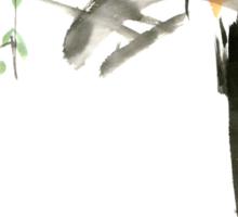 Chinese Shui-mo(水墨)- Bird Sticker