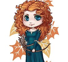 Chibi Merida by elliem-