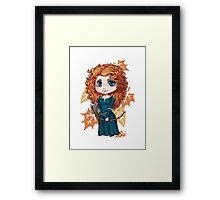 Chibi Merida Framed Print
