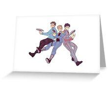 Star Trek - Triumvirate Greeting Card