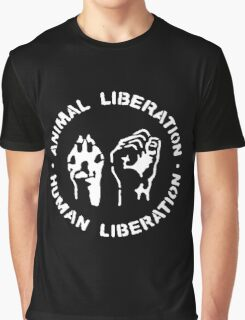 Animal Liberation Graphic T-Shirt