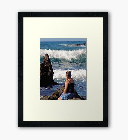 Spritual Moments Framed Print