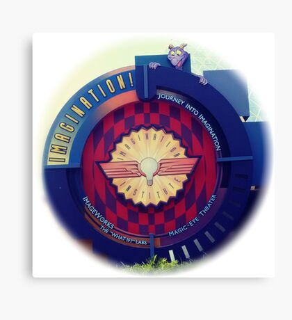 Journey Into Imagination Sign from EPCOT at Walt Disney World Canvas Print