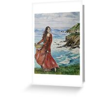 Sibeal of Sevenwaters Greeting Card