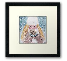Loving Winter Framed Print