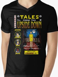 Tales from the Upside Down Mens V-Neck T-Shirt
