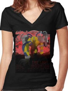 The Last Warrior From Another Planet - Yu-Gi-Oh! Women's Fitted V-Neck T-Shirt