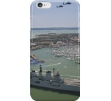 HMS Illustrious final return iPhone Case/Skin