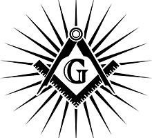 Freemasonry, Square and Compass, G = Great Architect / God / Grand Lodge / Geometry by nitty-gritty