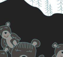 A Bear Den Sticker