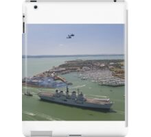 HMS Illustrious final return iPad Case/Skin