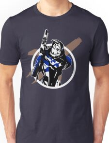 Garrus and Cruiser Unisex T-Shirt