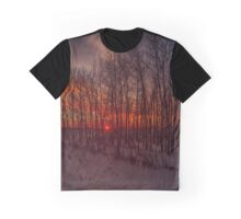 Sunrise Trees Graphic T-Shirt