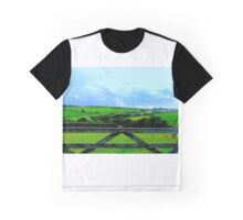 Cudoe:Cornish Countryside Graphic T-Shirt