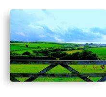 Cudoe:Cornish Countryside Canvas Print