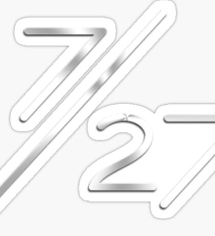 Fifth Harmony Album Logo 7/27 Sticker