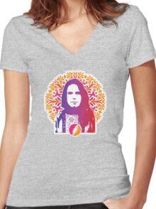 Grateful Dead - Bob Weir Women's Fitted V-Neck T-Shirt