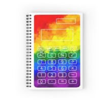 Rainbow Calculator Spiral Notebook